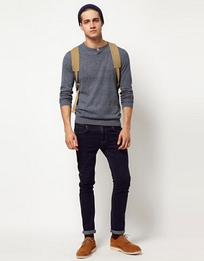 Image 4 ofASOS Notch Neck Jumper