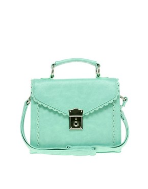 Image 1 ofASOS Scallop Edge Satchel