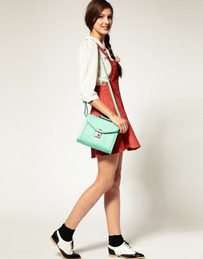 Image 3 ofASOS Scallop Edge Satchel