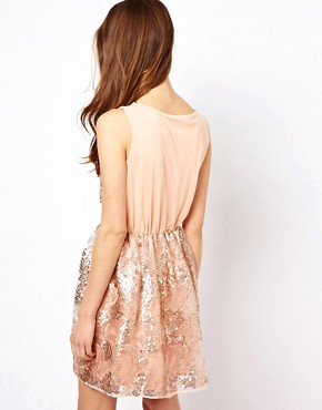 Image 2 ofPearl Sequin Skater Dress