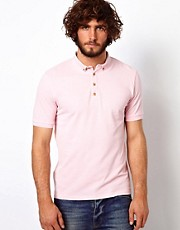 ASOS - Polo jersey di piqu con colletto button-down