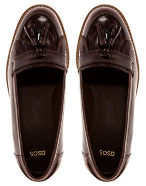 Image 2 ofASOS MAVERICK Leather Loafers