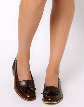 Image 3 ofASOS MAVERICK Leather Loafers