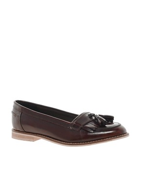 Image 1 ofASOS MAVERICK Leather Loafers