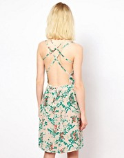 Sessun Silk Sun Dress with Strappy Back