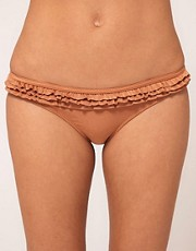 River Island - Lala - Slip bikini ruggine