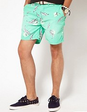 Scotch & Soda Floral Shorts