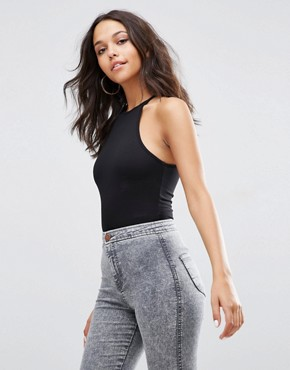 ASOS Body With Racer Neck