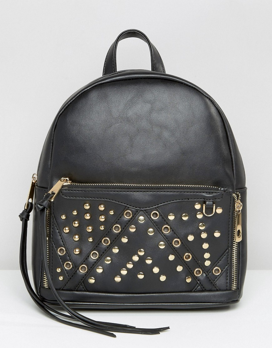 yoki-studded-backpack-black