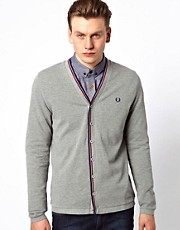 Fred Perry Cardigan in Pique