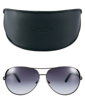 Image 2 ofCalvin Klein Aviator Sunglasses