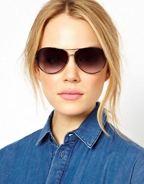 Image 3 ofCalvin Klein Aviator Sunglasses