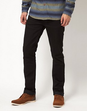 Image 1 ofNudie Jeans Organic Thin Finn Skinny Fit