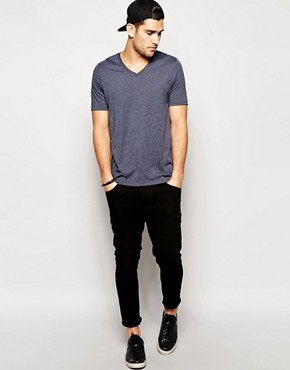 Image 4 ofASOS T-Shirt With V-Neck