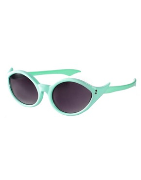 Image 1 ofASOS Wing Cat Eye Sunglasses