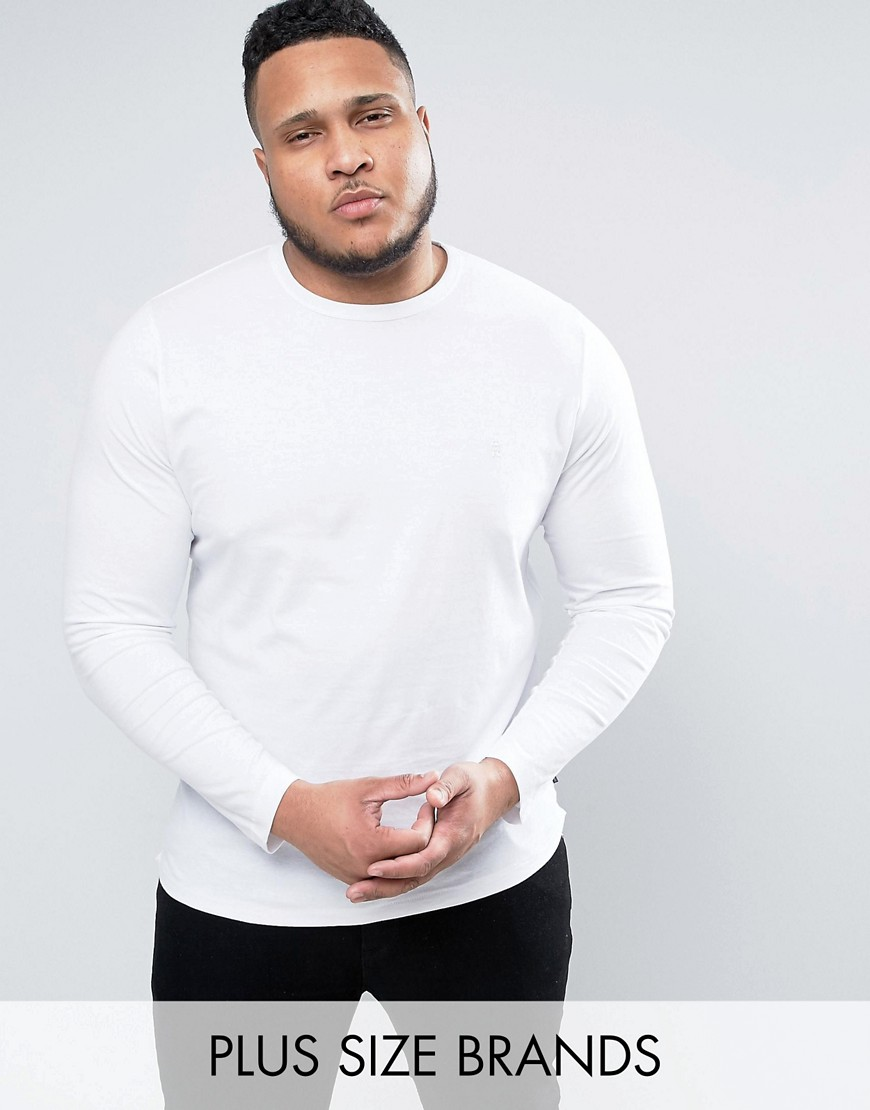French Connection PLUS Long Sleeve T-Shirt - White
