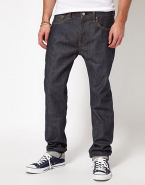Image 1 ofLevis Jeans 508 Tapered Fit Selvedge Induno