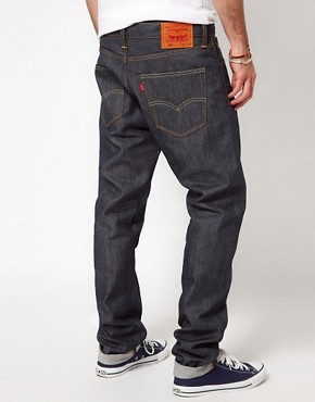 Image 2 ofLevis Jeans 508 Tapered Fit Selvedge Induno