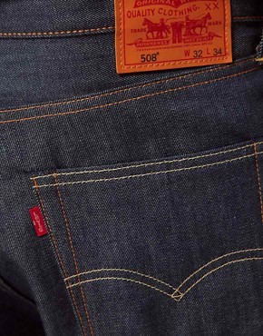 Image 3 ofLevis Jeans 508 Tapered Fit Selvedge Induno