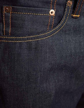 Image 4 ofLevis Jeans 508 Tapered Fit Selvedge Induno