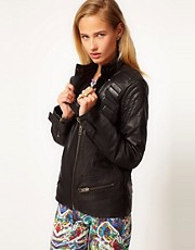 Chaqueta motera de ASOS Revive
