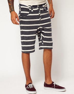 Image 1 of Humor Lago Striped Shorts