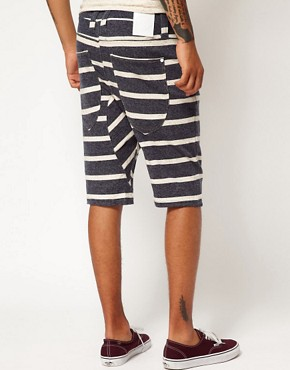 Image 2 of Humor Lago Striped Shorts