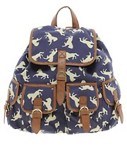 ASOS Horse Print Backpack