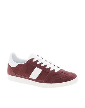 Image 1 ofASOS DALEY Trainers with Suede Detail