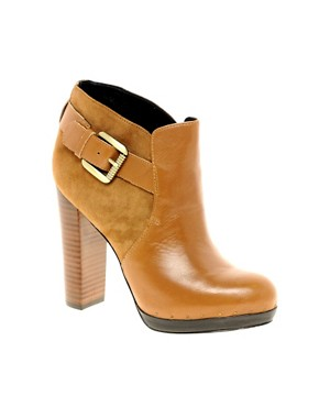 Image 1 ofSam Edelman Lulu Leather Ankle Boot With Buckle