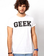 ASOS  T-Shirt mit Geek-Druck