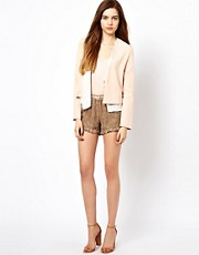 Gold Hawk Monet Ruffle Shorts