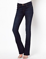 ASOS Supersoft Flared Jeans in Mid Stone Wash #17