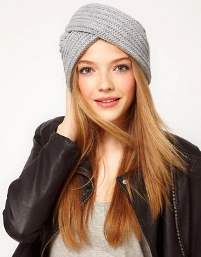 Image 1 ofASOS Chunky Knit Turban