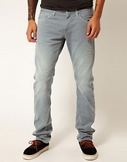 Replay Jeans Jeto Low Rise Slim Fit Laserblast Color Indigo