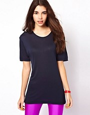 American Apparel - T-shirt in viscosa