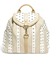 River Island Studded Backpack
