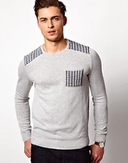 ASOS Patched Jumper