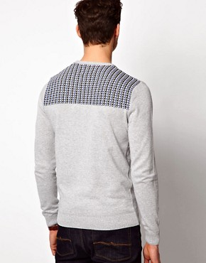 Image 2 of ASOS Patched Jumper