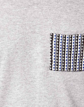 Image 3 of ASOS Patched Jumper