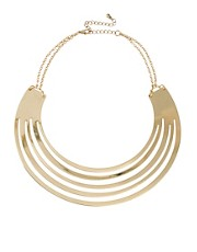 ASOS Gold Torque Necklace