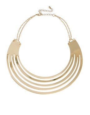 Image 1 ofASOS Gold Torque Necklace