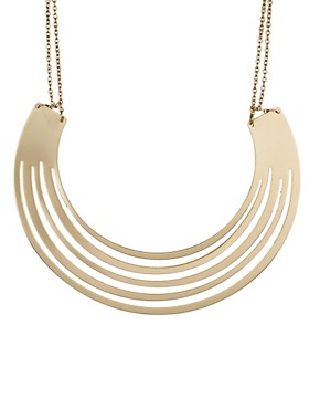 Image 2 ofASOS Gold Torque Necklace
