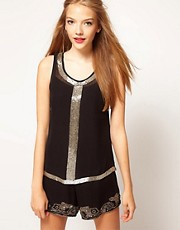 A Wear Art Deco Sequin Top