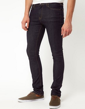 Image 1 ofASOS Super Skinny Jeans In Indigo