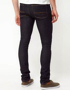 Image 2 ofASOS Super Skinny Jeans In Indigo