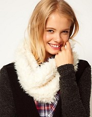 ASOS Faux Shearling Snood