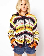 ASOS Premium Hand Knit Hoody