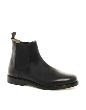 Image 1 ofASOS Chelsea Boots With Leather Sole