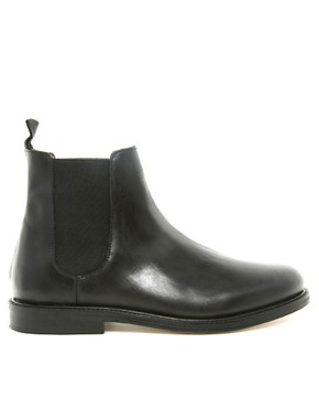 Image 4 ofASOS Chelsea Boots With Leather Sole